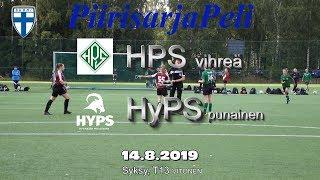 Piirisarja T13 HPS Vihreä vs HyPS Punainen 14.8.2019