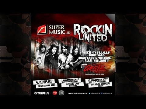 Artists Jamming - Highway To Hell (AC/DC) Live on Rockin United SUPERMUSIC.ID