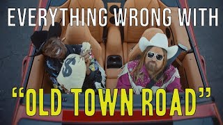 "Everything Wrong With Lil Nas X ft Billy Ray Cyrus - ""Old Town Road"""