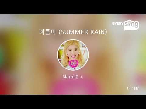 [everysing] 여름비 (SUMMER RAIN)