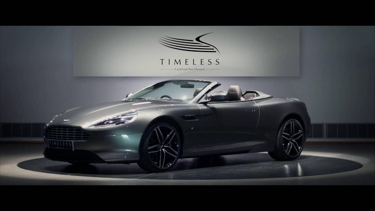 Aston Martin Timeless Certified PreOwned YouTube - Aston martin db9 pre owned