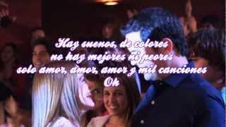 Violetta:Ser mejor-Show final-Letra
