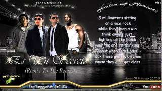 Plan B Ft Akon  Tego Calderon   Es Un Secreto (Remix To the Remix) [Con Letra]  LyricsLetra