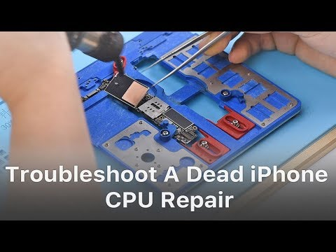 How To Troubleshoot A Dead iPhone  - CPU Repair