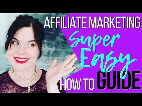 Affiliate Marketing For Beginners | SUPER Easy How To Guide thumbnail