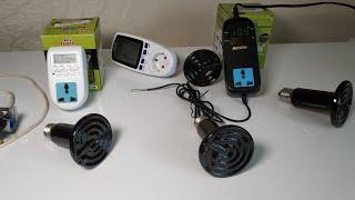 Отличные товары для птицеводства с Алиэкспресс(керамические лампы,терморегуляторы,таймеры).