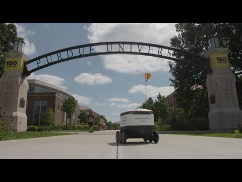 Kristina Kage - These Robots Are Delivering Food on This College Campus