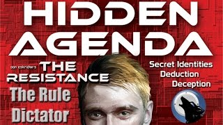 The Rule Dictator - How to play: Hidden Agenda