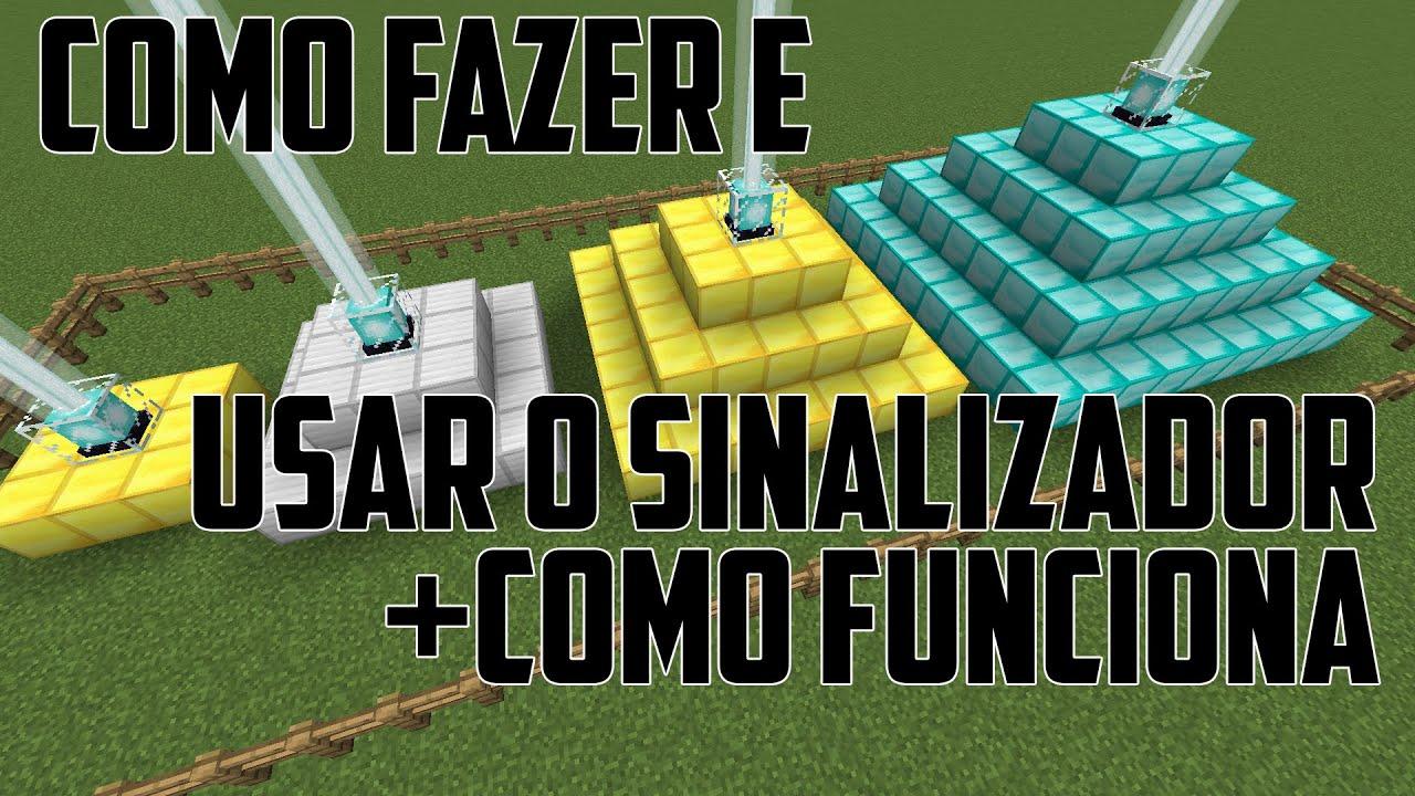 Como Fazer Um Sinalizador Minecraft Usar