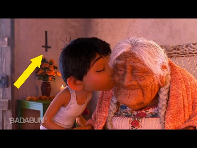 9 Cosas que Disney escondió de la película de Coco