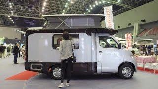 너무 작고 스마트한 캠핑카 - Tiny Pop up Camper D Tentmushi - Japan Camping Car Show 1