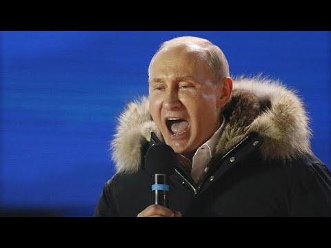 Putin vence eleições com mais de 75% de intenções de voto