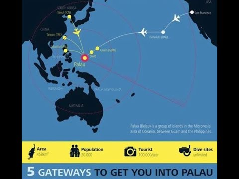 How to Get to Palau | 5 Gateways to Get You into Palau