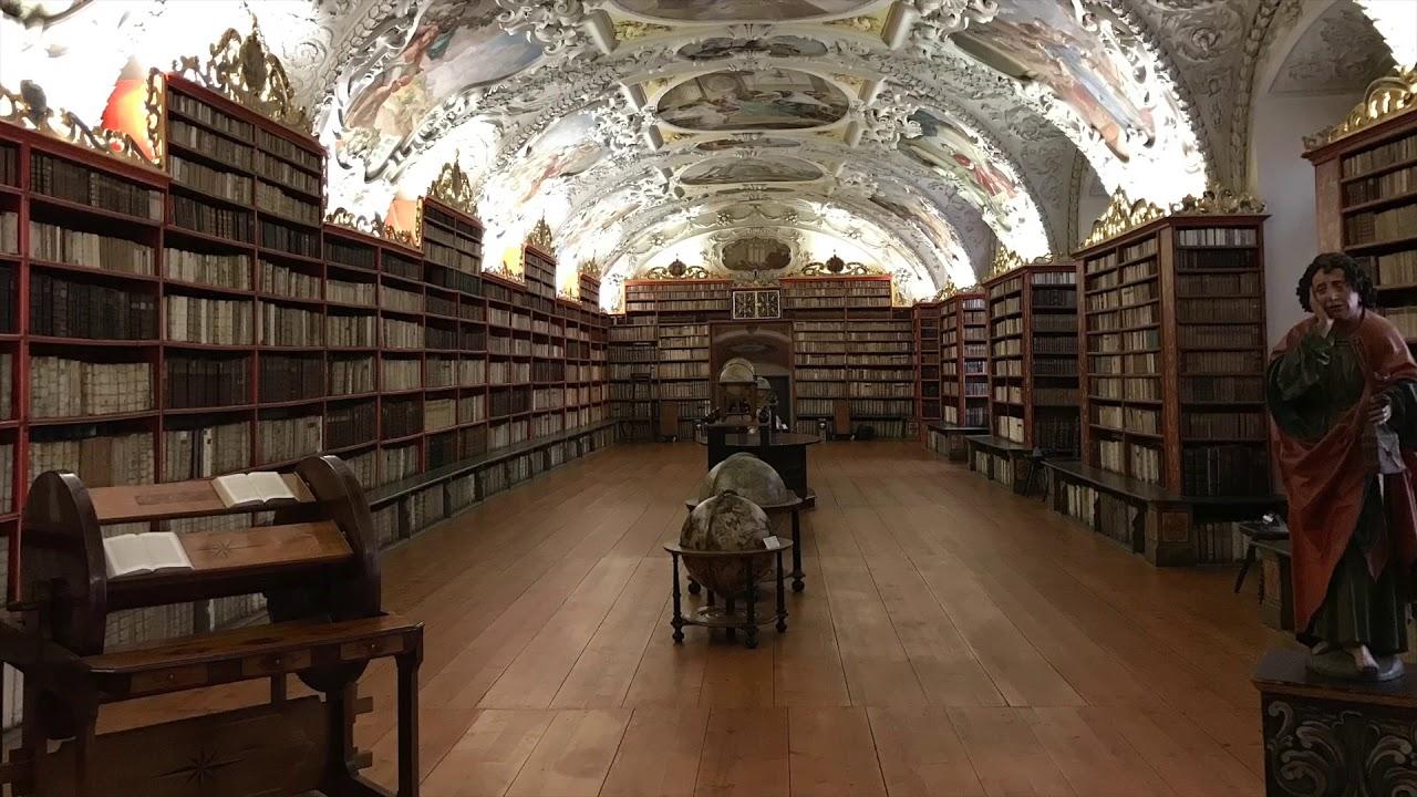 Visit Prague 5 - Strahov Library (Strahovská Knihovna) - YouTube