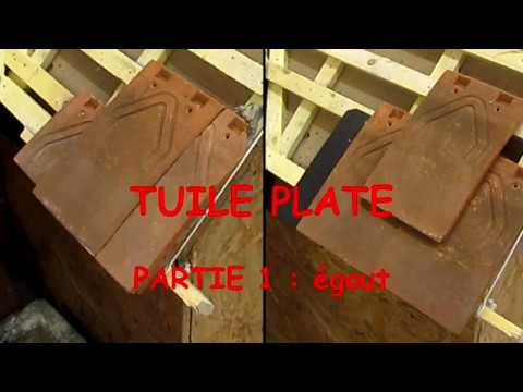 tuile plate 1 gout youtube. Black Bedroom Furniture Sets. Home Design Ideas
