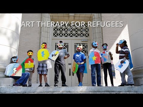 Art Therapy Camp for Young Refugees