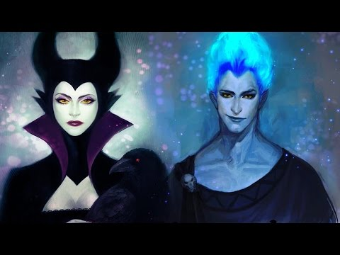 If Disney Villains Were Hot And Beautiful
