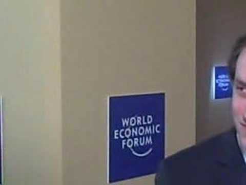 Davos 07: Chad Hurley's views on Davos and the future