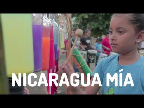 Nicaragua Mía con instrumentos reciclados - Videoclip - Alumnos de Música para Vivir (2014)