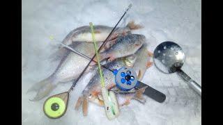 Первая рыбалка в новом году 01 01 2021
