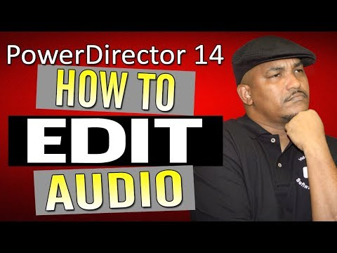 CyberLink PowerDirector 14 Ultimate | Audio - Volume Tutorial