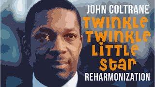 John Coltrane Twinkle Reharmonization mini tutorial
