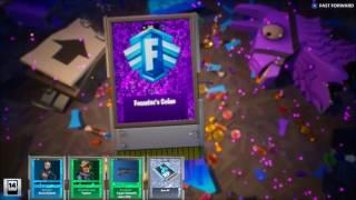Fortnite Unlock Legendary Hero with Gold Llama
