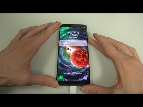EPIC Space Live Wallpaper App Samsung Galaxy S8 Android Review!