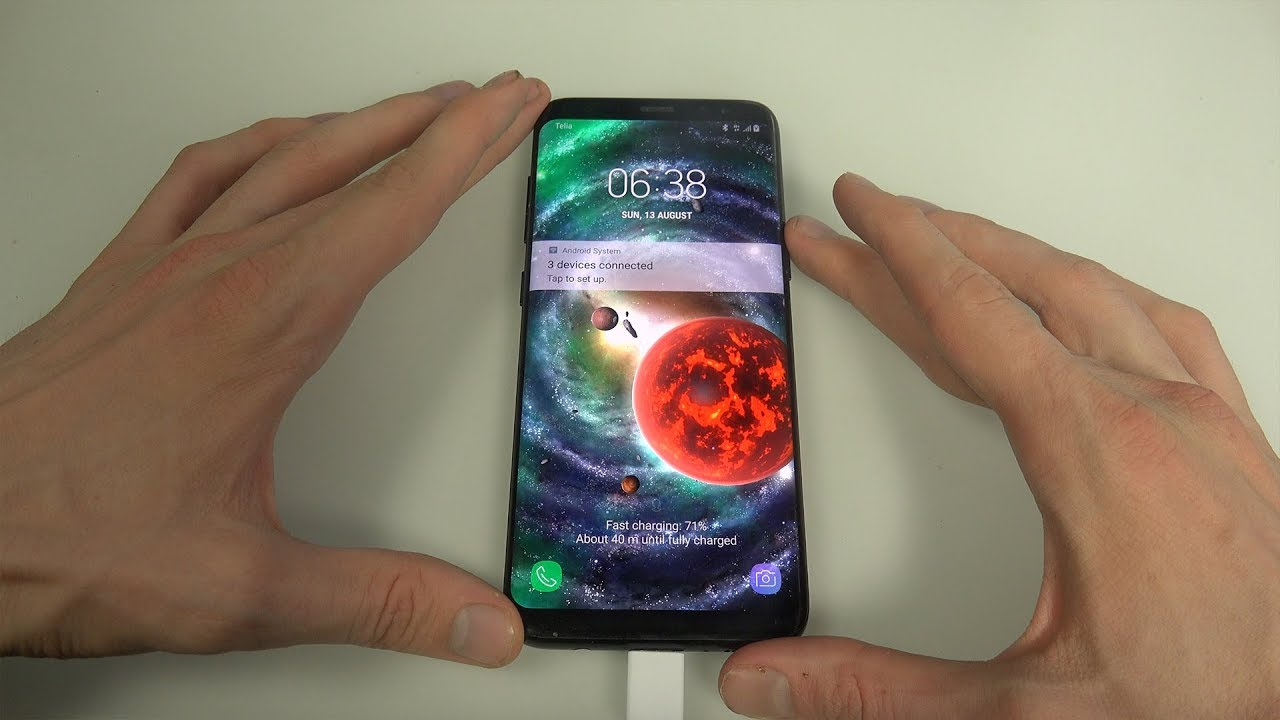 Epic Space Live Wallpaper App Samsung Galaxy S8 Android Review Youtube