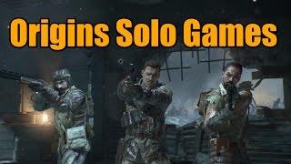 "Black Ops 2 Zombies Origins Solo Easter Egg Speedrun | BO2 Zombies ""Origins"" Gameplay"