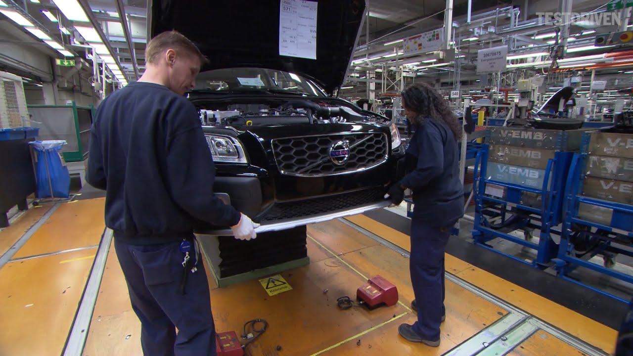 Volvo torslanda plant