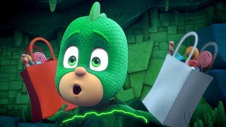 PJ Masks Full Episodes | Halloween Power Up! Special 🎈Cartoons for Kids