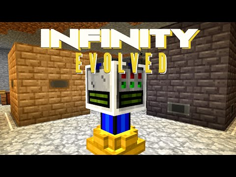 Minecraft Mods FTB Infinity Evolved - DOWN THE RABBIT HOLE [