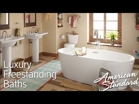 Luxury Freestanding Tubs - Soothing Deep Soaking Bathtubs
