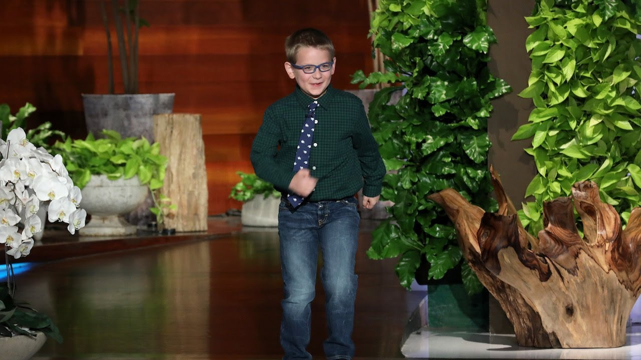 Ellen Quizzes 7-Year-Old Periodic Table Expert