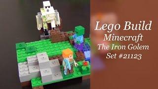 Let's Build - Lego Minecraft The Iron Golem Set #21123