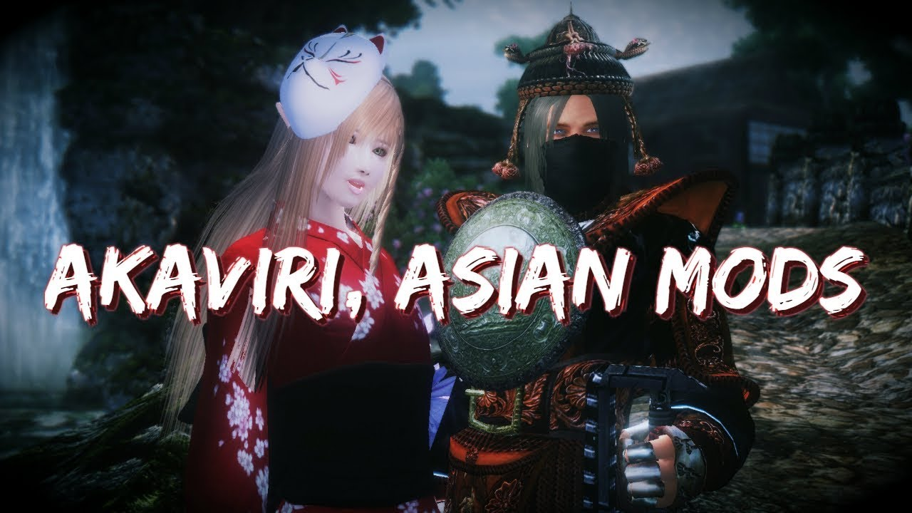 Oblivion 2018 Mod Showcase - Akaviri and Asian Mods at Oblivion