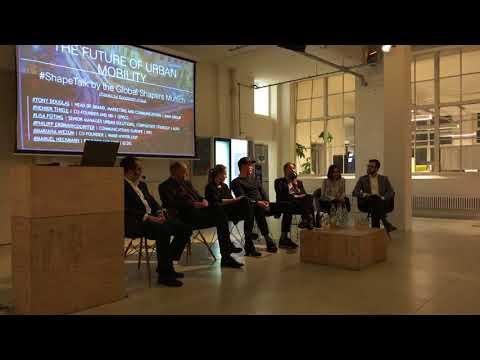 #ShapeTalk: The Future of Urban Mobility (Global Shapers Munich)