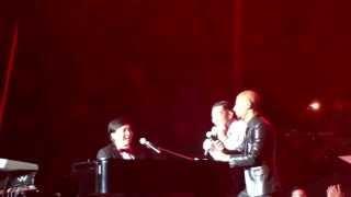 Yovie ft Rio & Marcel ~ New Song Challenge from Audience (Irreplaceable Konser Takkan Terganti)
