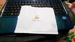 Google Adsense pin verify