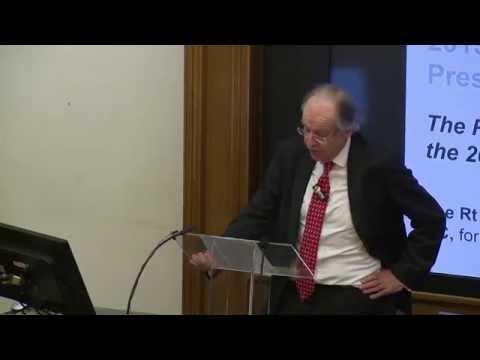The Bentham Association Presidential Address 2015   Lord Falconer