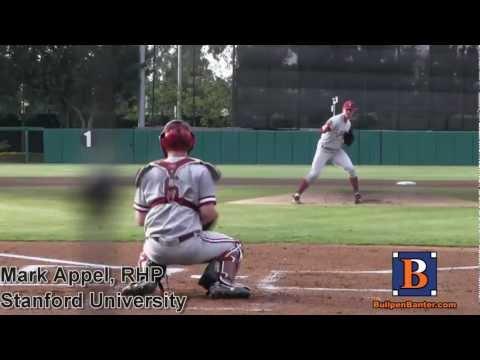 MARK APPEL PROSPECT VIDEO, RHP, STANFORD UNIVERSITY AT USC INNINGS 1-3