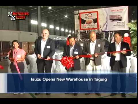 Isuzu Opens New Warehouse in Taguig   Industry News