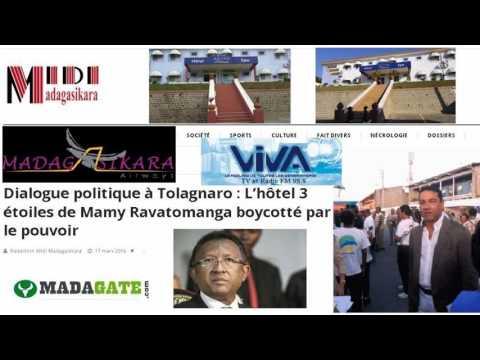 Hery Rajaonarimampianina tsisy henatra Viva 17 03 2016