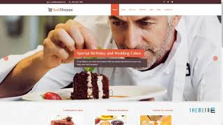 Elementor Cake Bakery WordPress Theme - Justshoppe