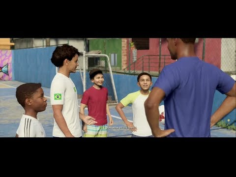 OFFICIAL FIFA 18 The Journey Gameplay (FIFA STREET)