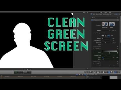 FCPX Tips: Super Clean Green Screen