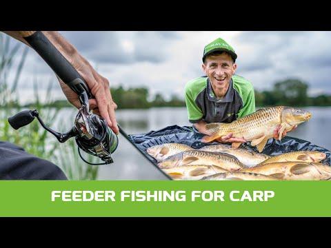 Maver Match Fishing TV: Feeder Fishing For Carp!