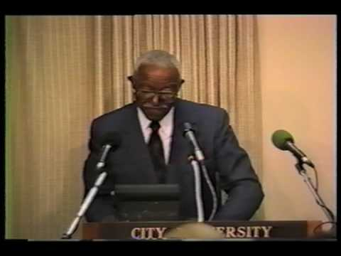 The La Guardia Lecture Series: Dr. John Hope Franklin