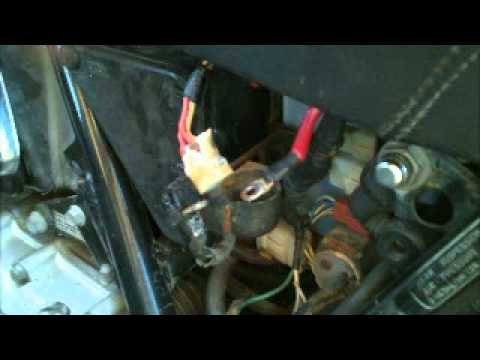 Replacing a Honda solenoid - YouTube
